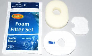 Shark Rocket Vacuum Foam filter Set - 3 filters