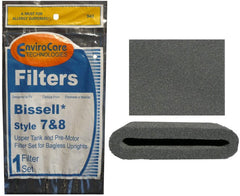Bissell style 7 & 8 Upper Tank & Pre Filter