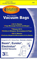 Beam / Electrolux / Eureka Central Vacuum Cleaner Bags