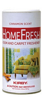 Kirby HomeFresh Room and Carpet Freshener Cinnamon Scent Part # 28CN12