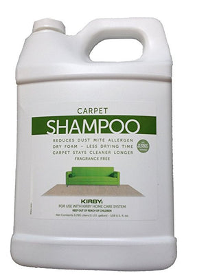 Kirby Carpet Shampoo 1 Gallon Unscented Part # 252803