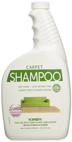 Kirby Carpet Shampoo 32 Oz. Lavender Scent Part # 252702