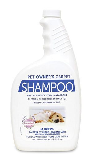 Kirby Carpet Shampoo for Pet Owners 32 Oz. Part # 235406