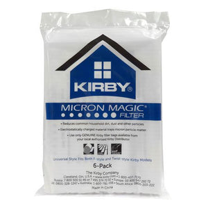 Kirby Micron Magic Allergen Reduction Vacuum Bags - 6 pack