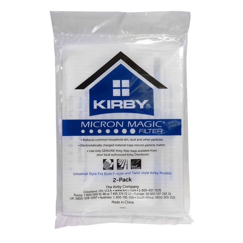 Kirby Micron Magic Allergen Reduction Vacuum Bags - 2 pack