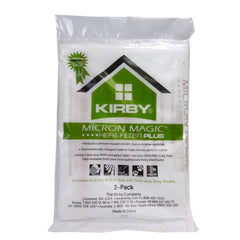 Kirby MicroAllergen Plus HEPA Filter Bags For Avalir & Older (2 Pack) Part # 205814