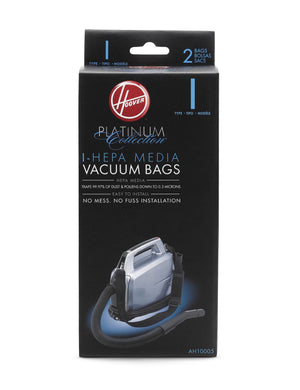 Hoover type I Vacuum Bags (2 pack) Part # AH10005