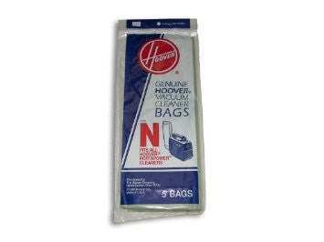 Hoover N Vacuum Cleaner Bags (5 pack) Part # 4010038N