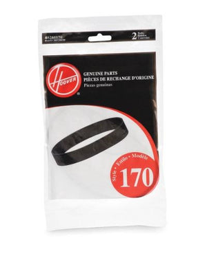Hoover style 170 WindTunnel PowerDrive Vacuum Belts (2-Pack) Part # 40201170