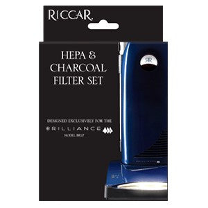 Riccar Brilliance Premium HEPA & Electrostatic/Charcoal Vacuum Filters