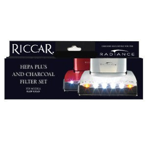 Riccar Premium Radiance HEPA Plus and Charcoal Vacuum Filter Set, Original Riccar Part # RF9U-1