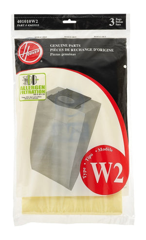 Hoover Type W2 Allergen (3 pack) Part # 401010W2
