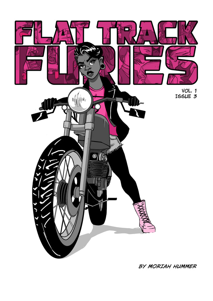 Flat Track Furies Issue #3