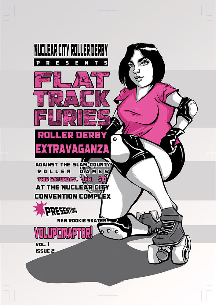 Flat Track Furies Issue #2