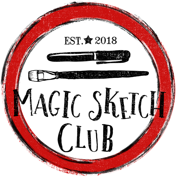 Magic Sketch Club Local Florida Sketch Club Disney World Tangie Art Journaling The Magic