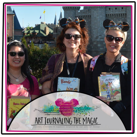 **JUST ADDED DECEMBER** Art Journaling the Magic No. 9 Orlando (Disney World)