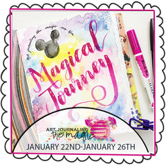 **NEW 2018** Art Journaling the Magic No. 7 on Location at Disney World