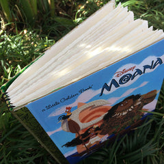 Moana-Golden Book Journal READY TO SHIP
