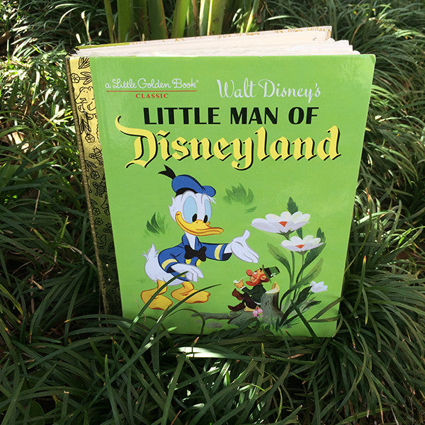 Little Man of Disneyland-Golden Book Journal READY TO SHIP