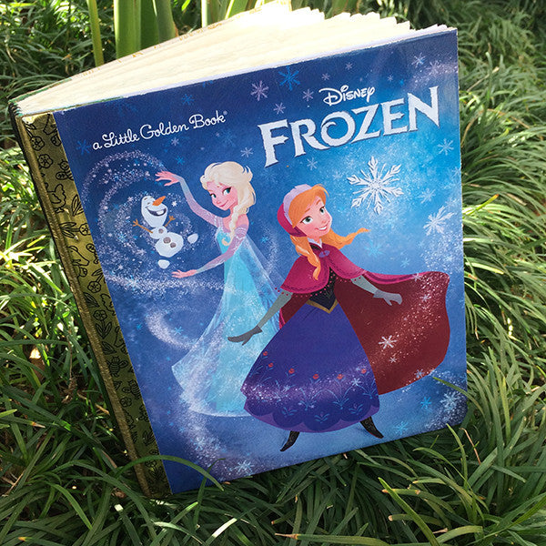 Frozen-Golden Book Journal READY TO SHIP