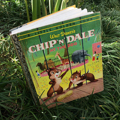 Chip 'n' Dale at the Zoo (RARE)-Golden Book Journal READY TO SHIP