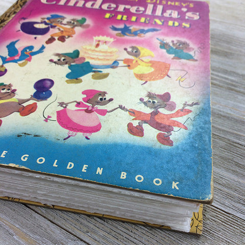 Cinderella's Friends (Rare)-Golden Book Journal READY TO SHIP