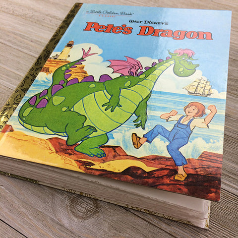 Pete's Dragon (New)-Golden Book Journal READY TO SHIP