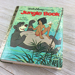 Jungle Book (Hard to Find Cover) -Golden Book Journal READY TO SHIP