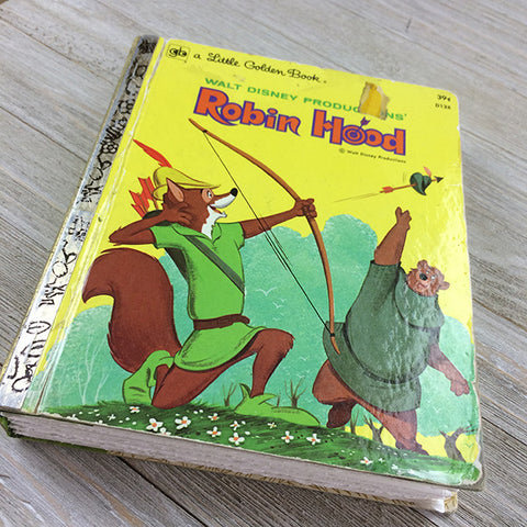 Robin Hood (RARE)-Golden Book Journal READY TO SHIP