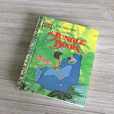Jungle Book -Golden Book Journal READY TO SHIP