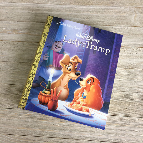Lady and the Trmp-Golden Book Journal READY TO SHIP