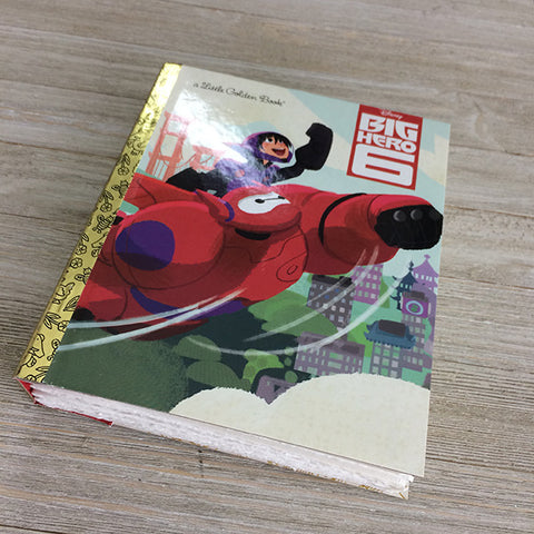 Big Hero 6 -Golden Book Journal READY TO SHIP