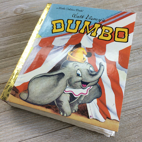 Dumbo-Golden Book Journal READY TO SHIP