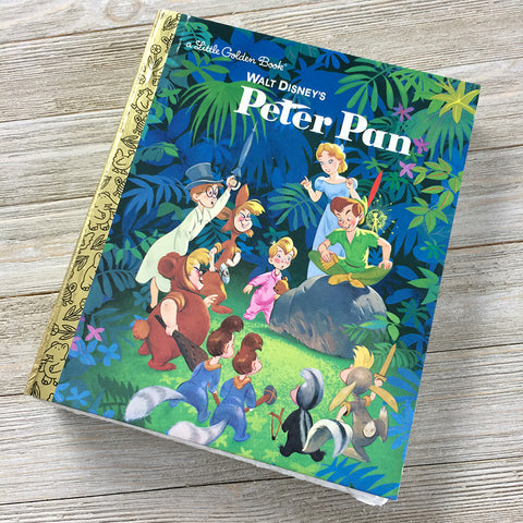 Peter Pan-Golden Book Journal READY TO SHIP