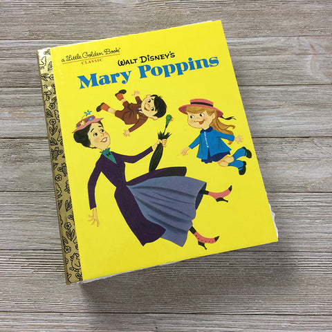 Mary Poppins-Golden Book Journal READY TO SHIP