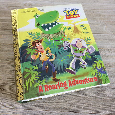 A Roaring Adventure (Toy Story)-Golden Book Journal READY TO SHIP