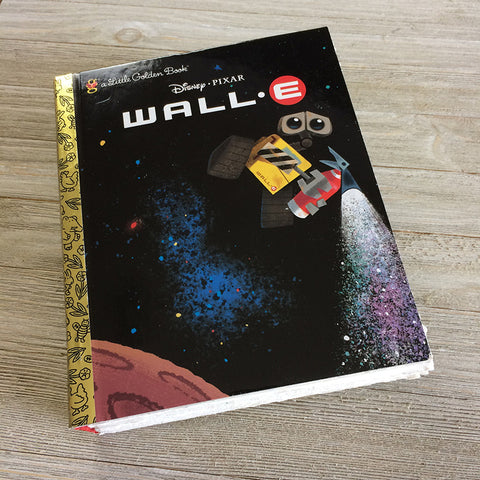 Wall-E-Golden Book Journal READY TO SHIP