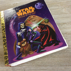 Return of the Jedi-Golden Book Journal READY TO SHIP