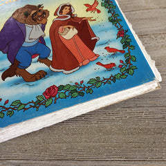 Beauty and the Beast (Vintage)-Golden Book Journal READY TO SHIP