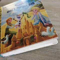 Olaf's Perfect Day-Golden Book Journal READY TO SHIP