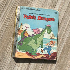 Pete's Dragon (Vintage)-Golden Book Journal READY TO SHIP