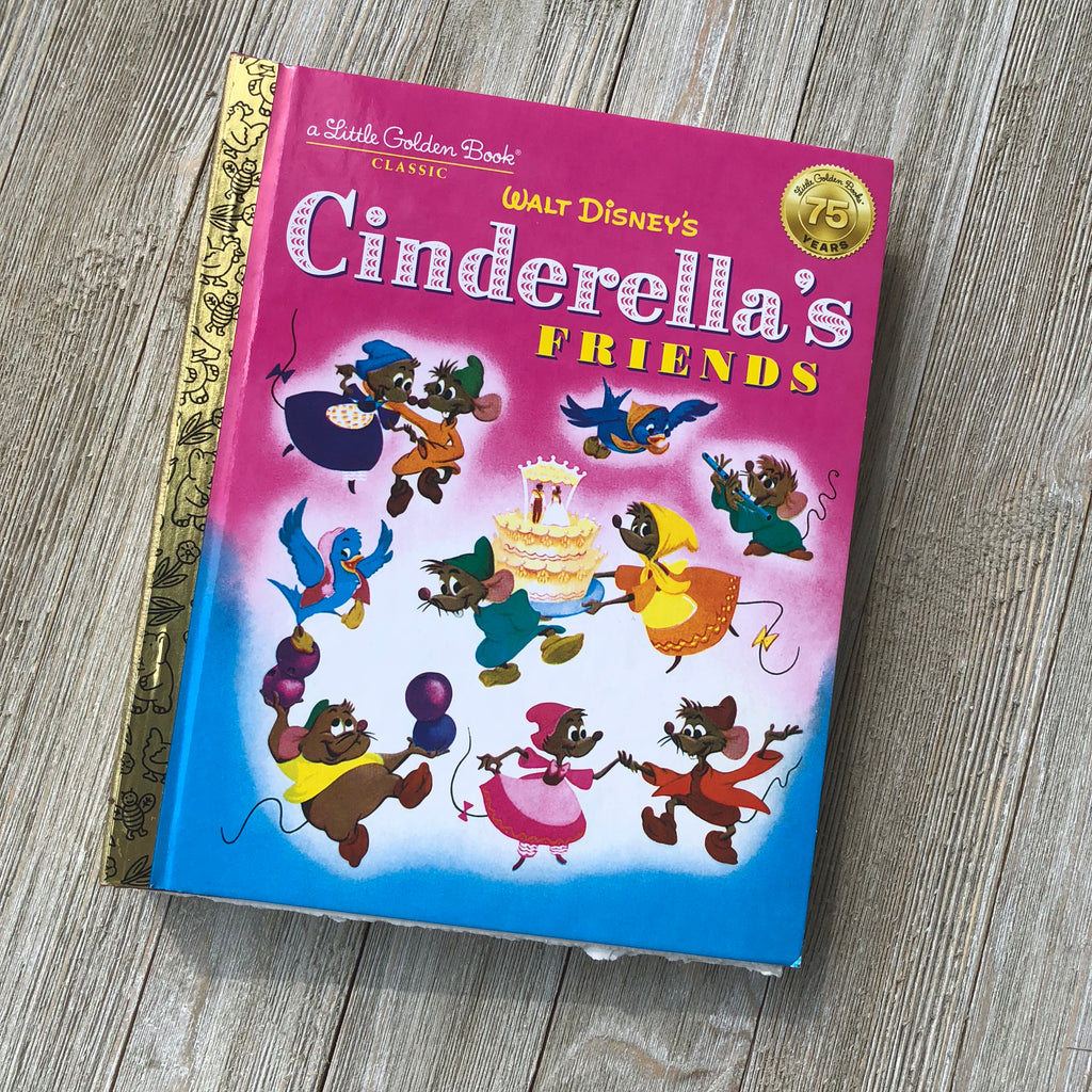 Cinderella's Friends (New)-Golden Book Journal READY TO SHIP