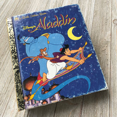 Aladdin -Golden Book Journal READY TO SHIP