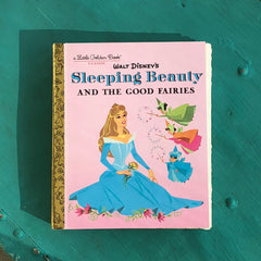 Sleeping Beauty and the Good Fairies (New)-Golden Book Journal READY TO SHIP