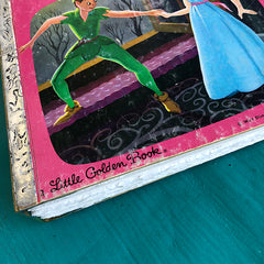 Peter Pan & Wendy (Hard to Find)-Golden Book Journal READY TO SHIP