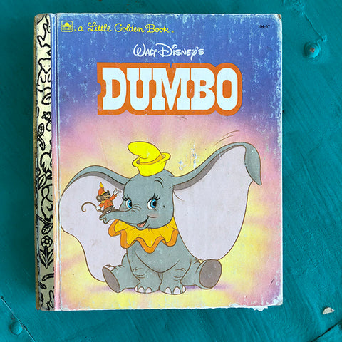 Dumbo (Vintage)-Golden Book Journal READY TO SHIP