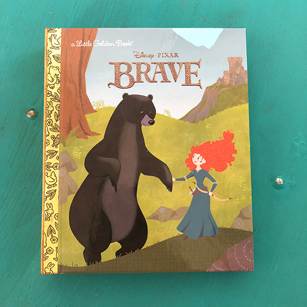 Brave-Golden Book Journal READY TO SHIP