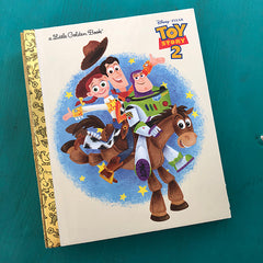 Toy Story 2-Golden Book Journal READY TO SHIP