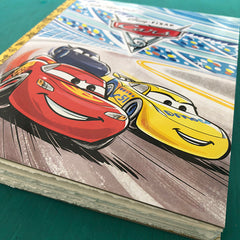 Cars 3-Golden Book Journal READY TO SHIP