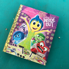 Inside Out-Golden Book Journal READY TO SHIP